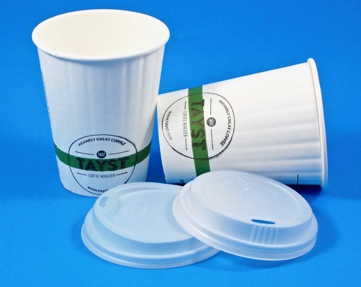 Tayst compostable cups