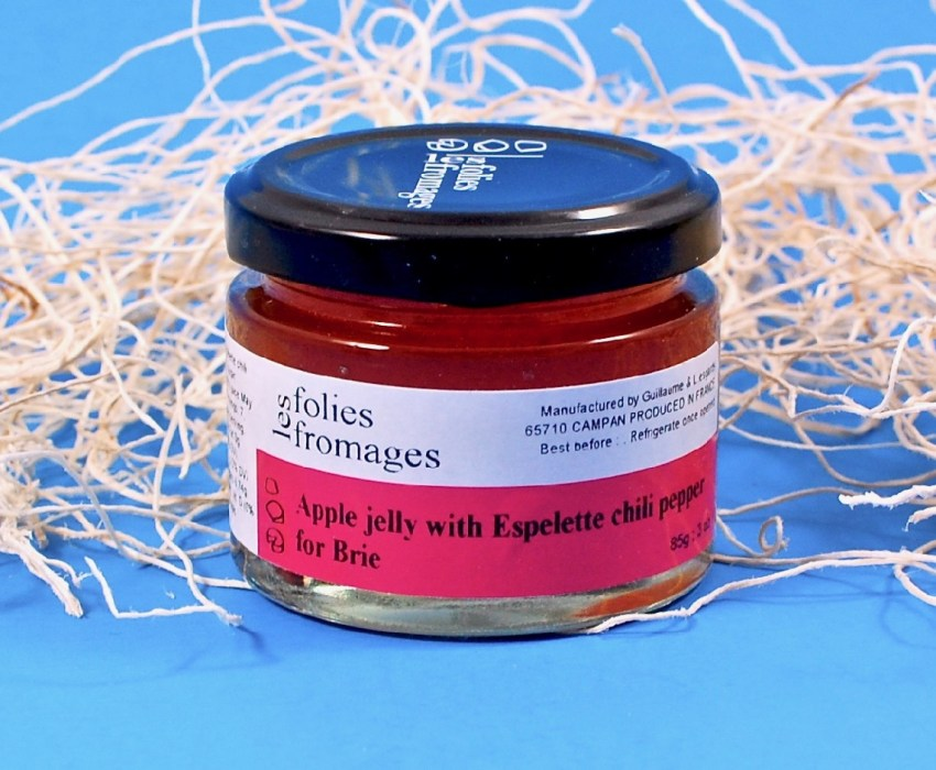 Apple Jelly with Espelette Pepper