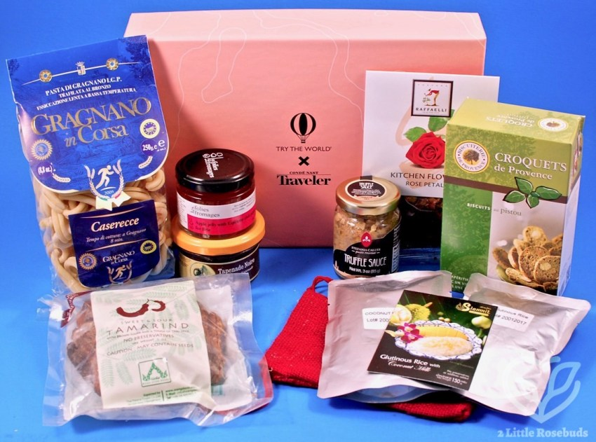"Try the World & Conde Nast Traveler ""Amour Box"" Review + Coupon Code"