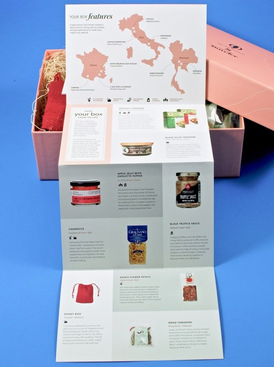 Try the World Conde Nast Amore box