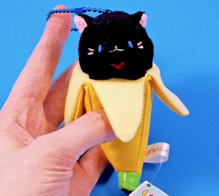 Bananya keychain