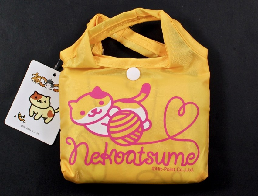 Neko Atsume reusable shopping bag