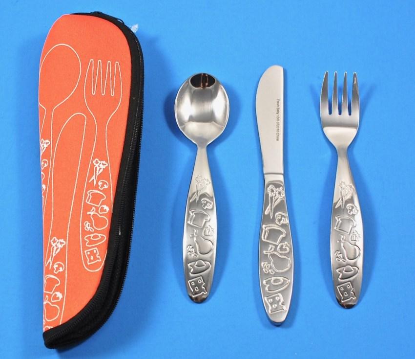 Fresh Baby stainless steel utensils