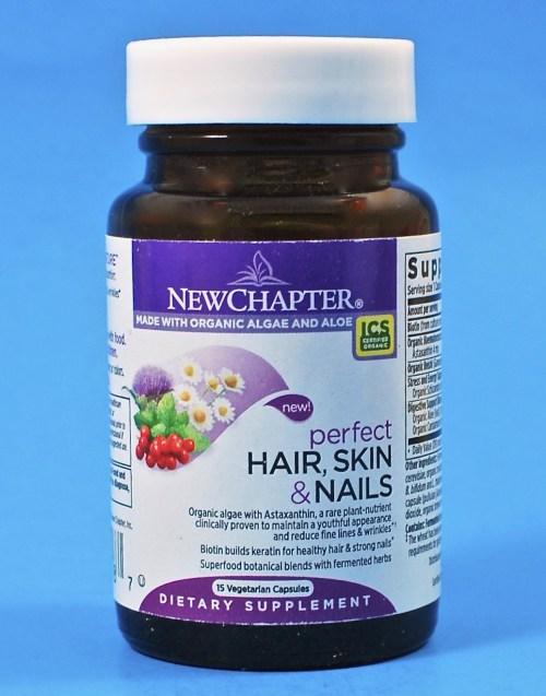 New Chapter hair vitamins