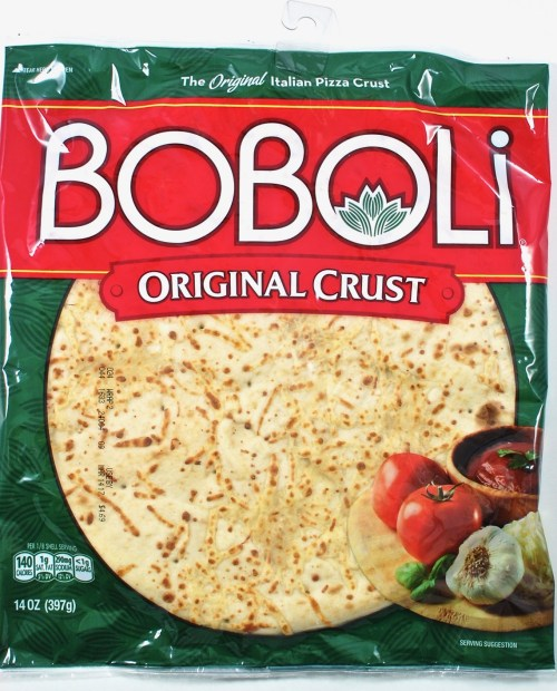 Boboli pizza crust