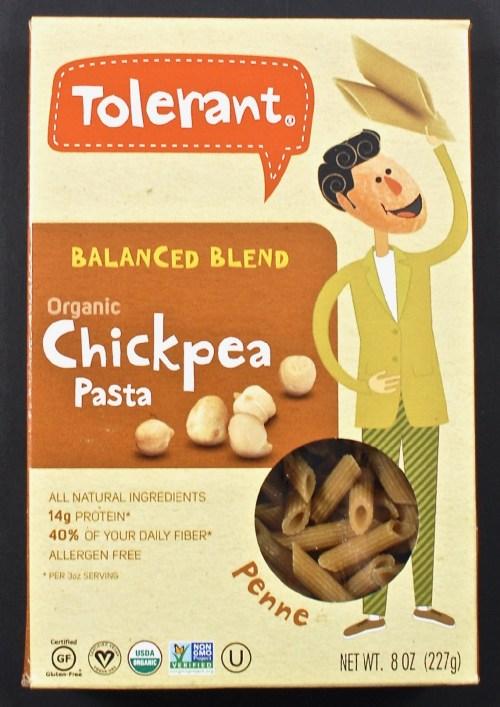 Tolerant chickpea pasta