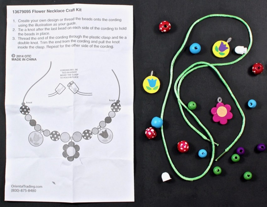 spring necklace kit