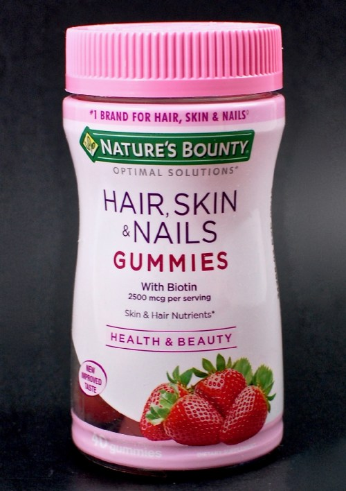 Natures Bounty Hair Skin And Nails Gummies With Biotin Review