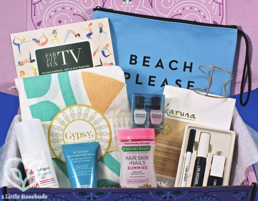 FabFitFun Spring 2017 Subscription Box Review & Coupon Code