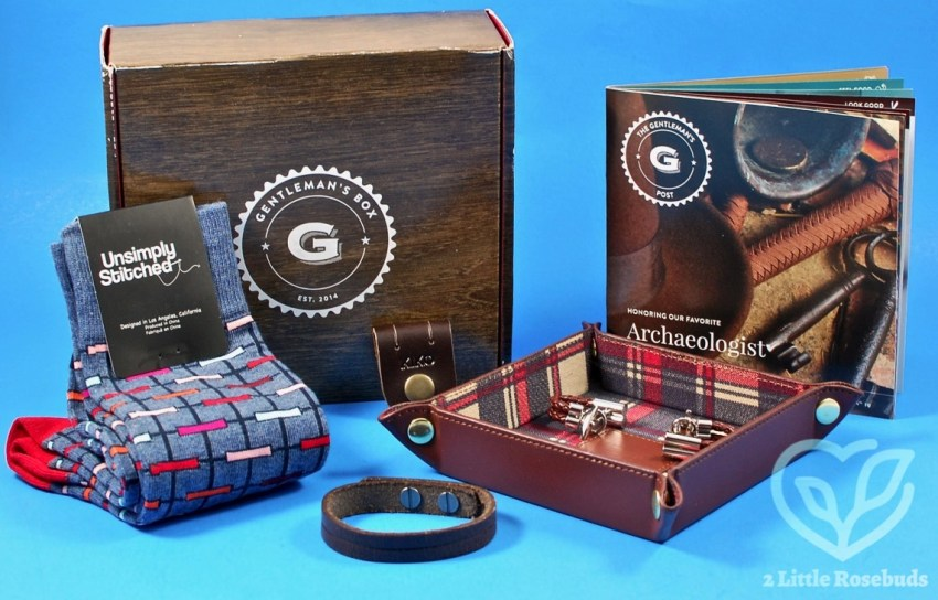 Gentleman's Box March 2017 Subscription Box Review & $10 Coupon