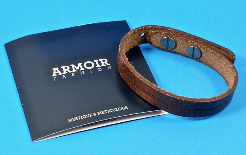 Armoir fashion leather bracelet