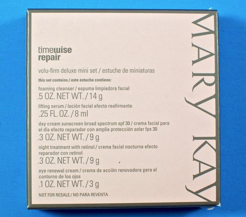 Mary Kay Timewise Repair Volu-firm set