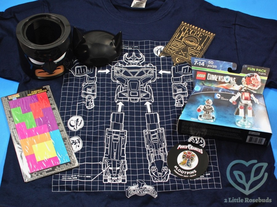 February 2017 Loot Crate review