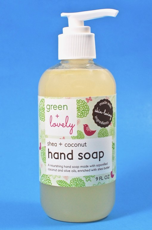Green & Lovely hand soap