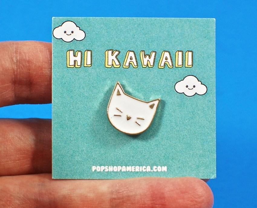 Kitten Enamel Pin