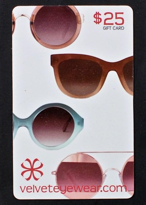 Velvet Eyewear gift card