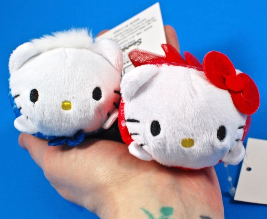 Hello Kitty & Dear Daniel plushes