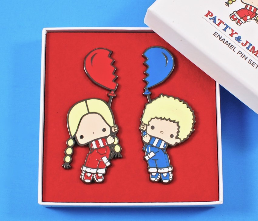 Patty & Jimmy pins