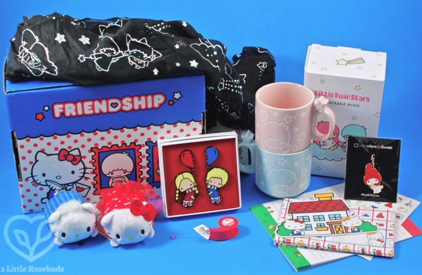 Loot Crate Sanrio Small Gift Crate March 2017 Review