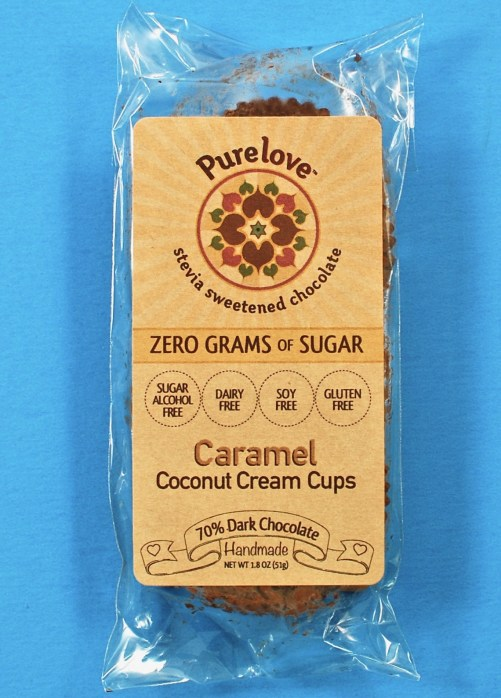 Purelove caramel coconut cream cups