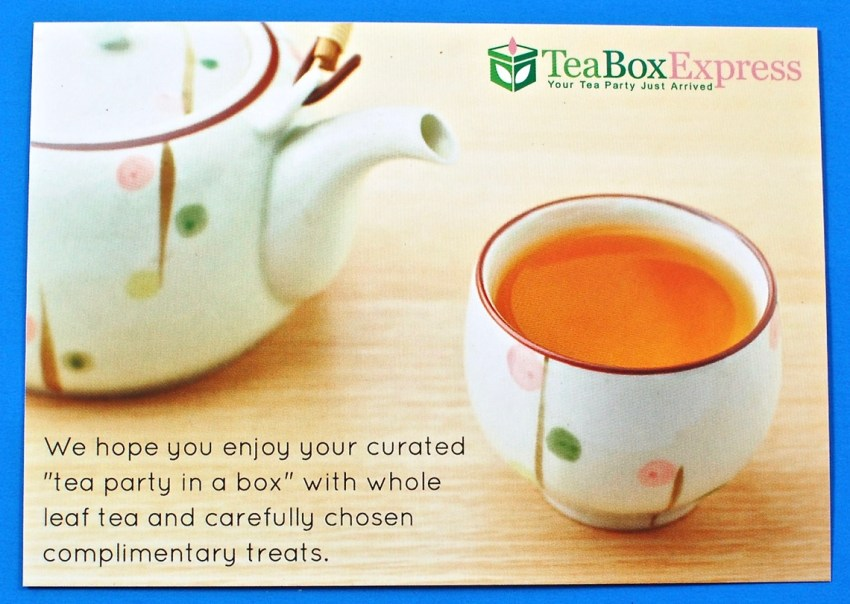 Tea Box Express coupon