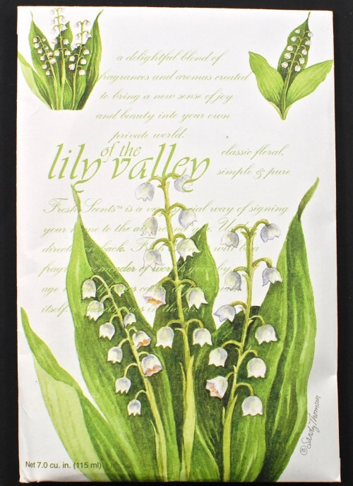 Lilly of the Valley sachet
