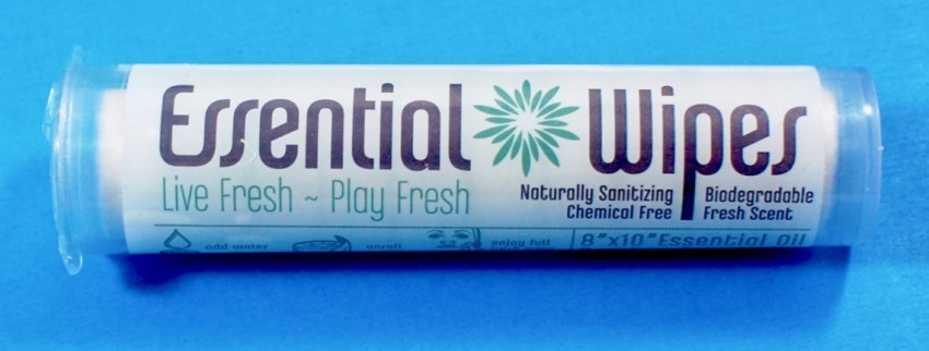 Essential Wipes Travel Tube by Essential Wipes