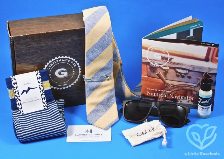 Gentleman's Box April 2017 Subscription Box Review & Coupon Code