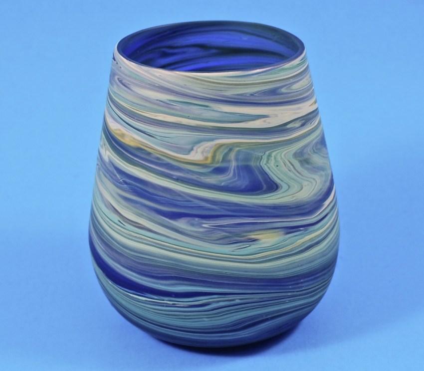 recycled glass tumbler globein