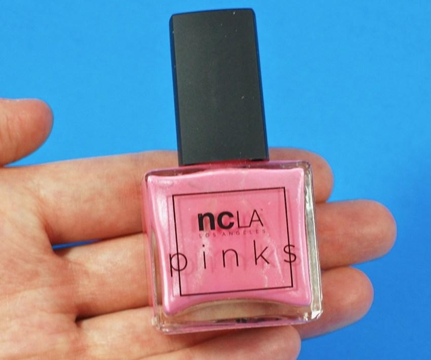 NCLA pink polish