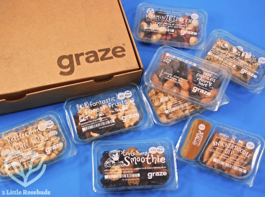 Graze April 2017 Snack Subscription Box Review & First Box FREE