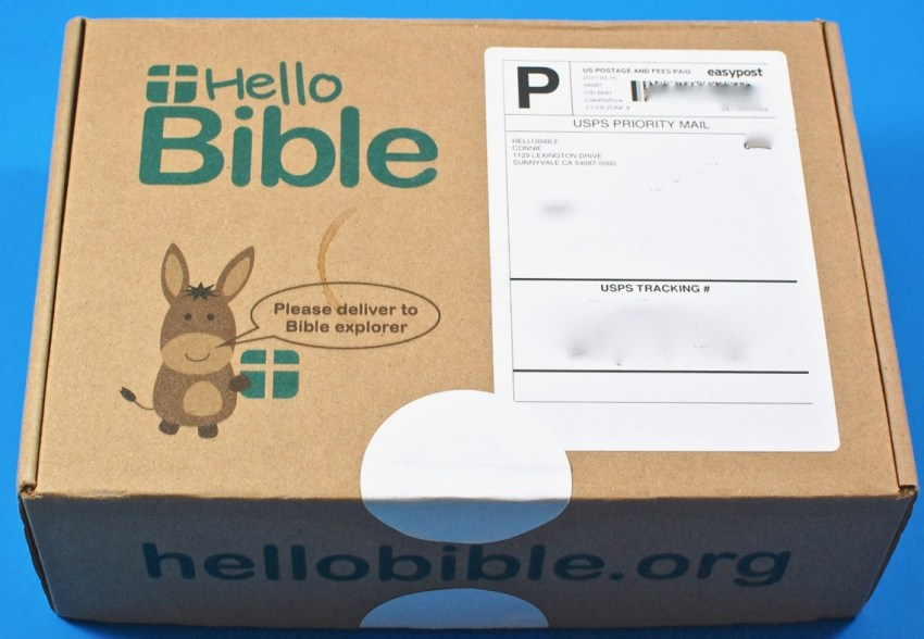 Hello Bible box review