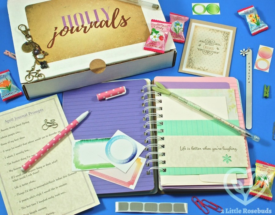 April 2017 Holly Journals review