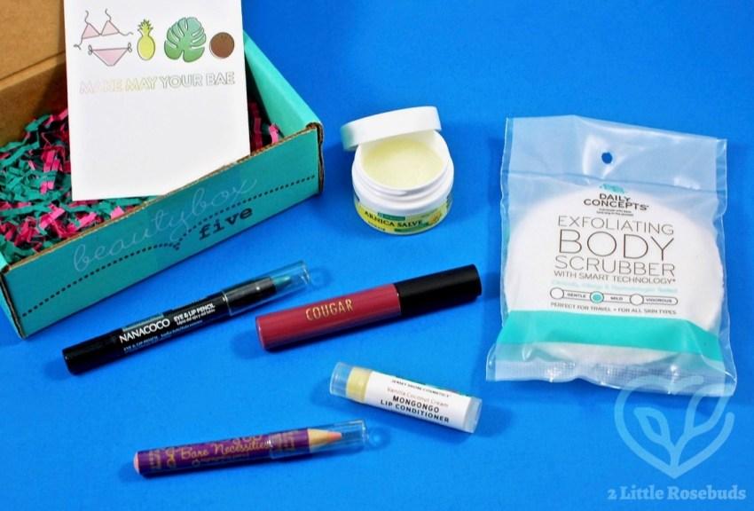 Beauty Box 5 May 2017 Subscription Box Review & FREE Eyeliner