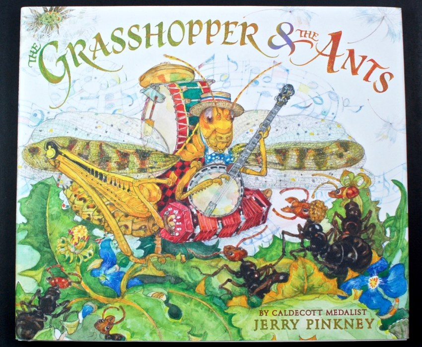 Grasshopper & Ants book