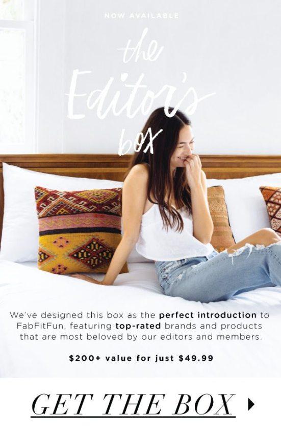fabfitfun editor's box