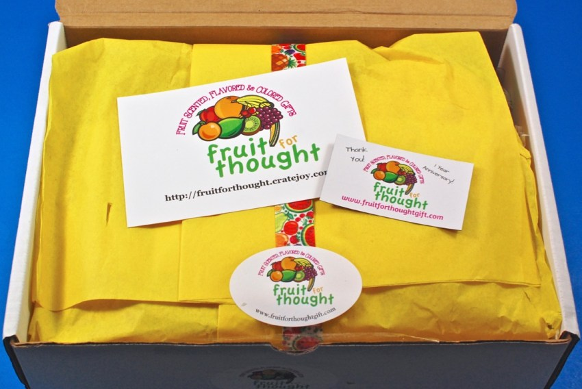Fruit for Thought box review