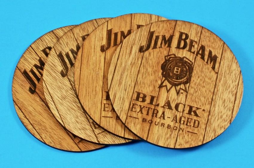 jim beam coasters