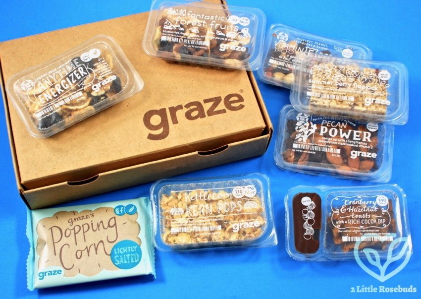 Graze May 2017 Snack Subscription Box Review & First Box FREE