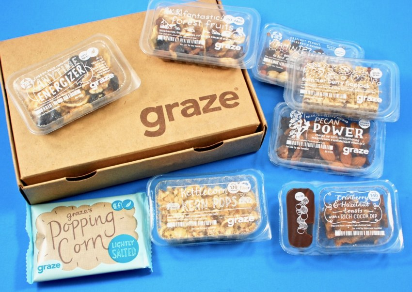 Graze Black Friday Deal – First Box FREE + 20% Off for Life!
