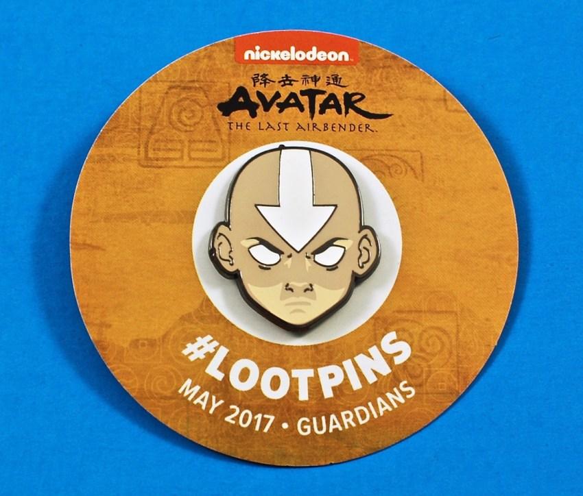Loot Crate Avatar pin