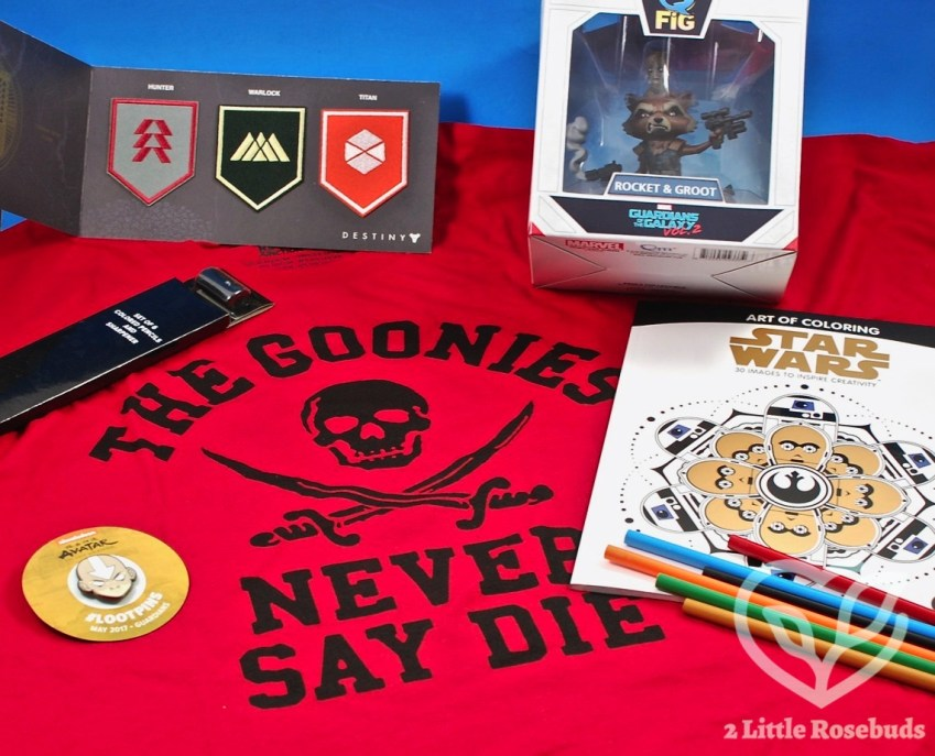 "Loot Crate May 2017 ""Guardians"" Subscription Box Review & Coupon Code"