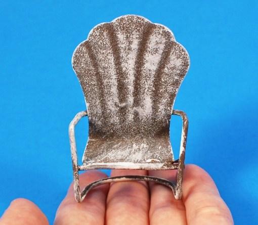 tiny metal chair