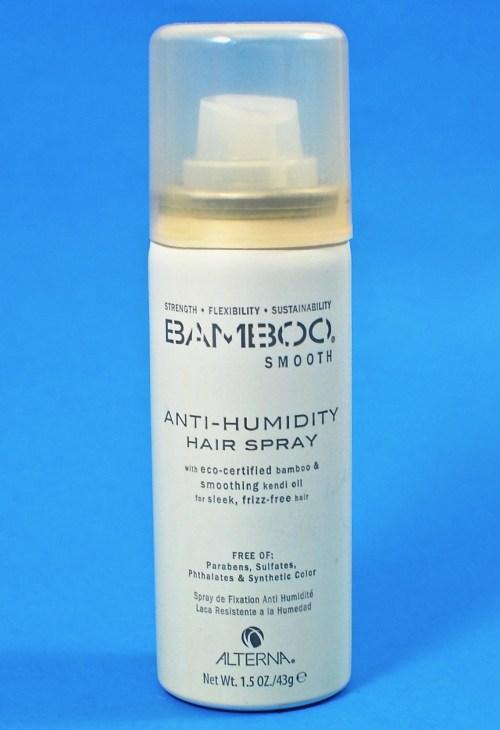 Bamboo hair spray