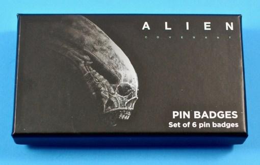 Alien enamel pins