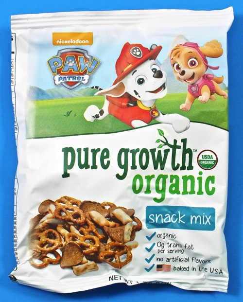 Pure Growth Organic snack mix