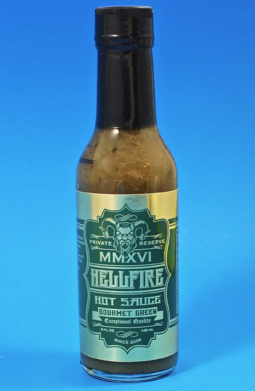 Hellfire gourmet hot sauce