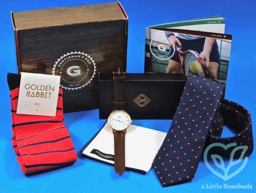 Gentleman's Box June 2017 Subscription Box Review & Coupon Code