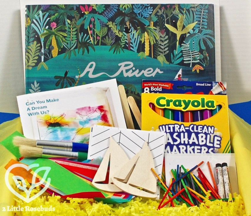 KidArtLit June 2017 Children's Subscription Box Review