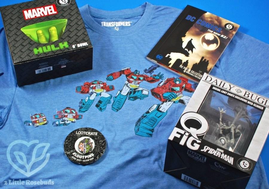 June 2017 Loot Crate review